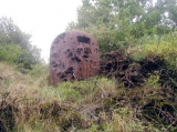 GFM with evidence of damage from 1940. Petit Ouvrage Bambesch