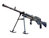 Mdle 1926 Hotchkiss LMG. Never actually adopted by the French Army.