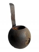 Austro-Hungarian Rohr Grenade. Round Head