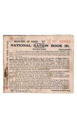 British Ration Card Front
