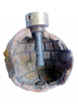 Exploded (relic) M1914 French Grenade