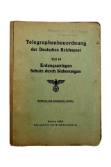 German Instruction Booklet for Radio communications