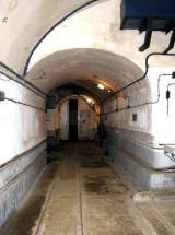 Corridor and blast door in a Petit Ouvrage